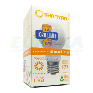 SH - Lampadina a led smartline 12w E27 A60 Calda 3000k