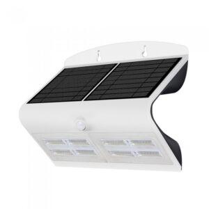 6.8W LED Solar Wall Light 4000K+400K White+Black Body
