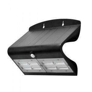 6.8W LED Solar Wall Light 4000K+4000K Black+Black Body