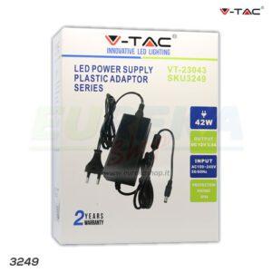 ALIMENTATORE PER LED A 12V 42W 12V 3.5A Plastic IP44
