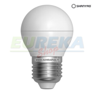 SH - Lampadina a led smartline 6w E27 G45 Calda 3000k