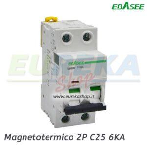 Ebasee - Magnetotermico 2P C25 6KA 2M