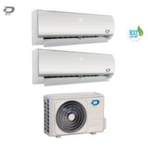 Condizionatore DILOC FROZEN R32 Inverter DUAL 12000+12000 BTU