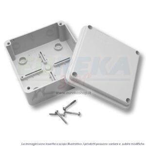 CASSETTA DERIVAZIONE 380X300X120MM C/PARETI LISCE IP56