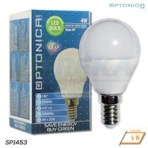 Lampadina LED 4W E14 P45 2700K