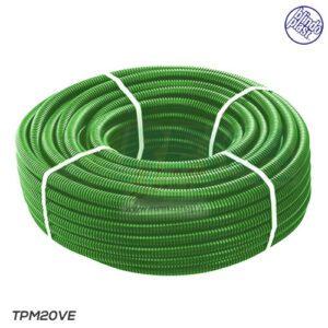 BLINDOPLAST - Corrugato Verde d.20 MT100