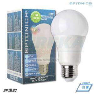 Lampadina LED 10W E27 A60 6000K