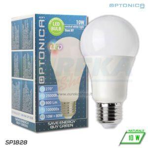 Lampadina LED 10W E27 A60 4500K