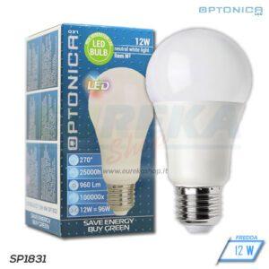 Lampadina LED 12W E27 A60 6000K