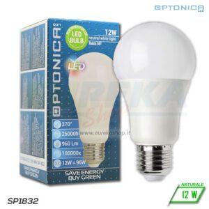 Lampadina LED 12W E27 A60 4500K