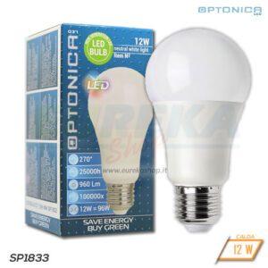 Lampadina LED 12W E27 A60 2700K