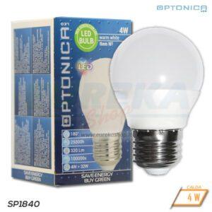 Lampadina LED 4W E27 G45 3000K
