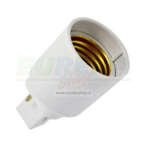 Adattatore per lampadine da G24 a E27