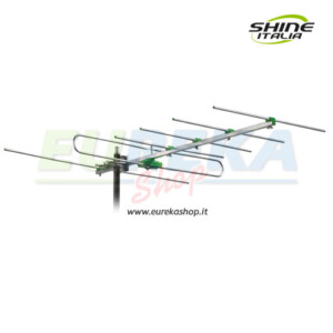 Antenna VHF/BIII 6 elementi Guadagno 12 dB