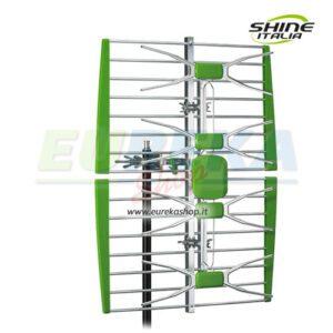 Antenna UHF a pannello 4 elementi Guadagno 10 13 dB
