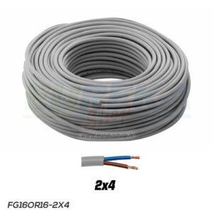 CAVO FG16R16-0.6/1KV 2X4