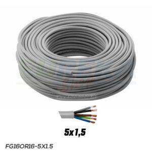 CAVO FG16R16-0.6/1KV 5G1.5