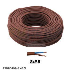 CAVO FS18OR18 300/500V 2X2.5