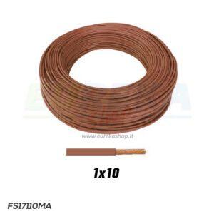 CAVO FS17 1X10 MARRONE