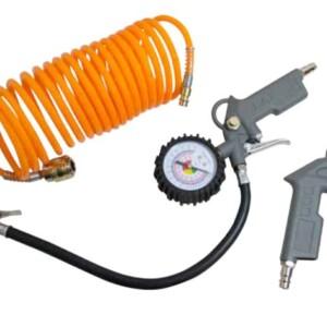 Accessori per compressore KO277: 1 pistola per aria compressa 1 pistola per aria