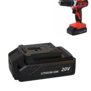 Batteria a ioni di litio 20Volts ricaricabile , capacit:1500 mAh , ricambio pe