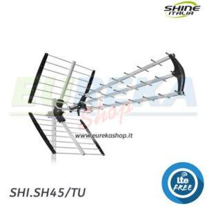 Antenna UHF alto guadagno con filtro LTE 45 elementi 16 18 dB