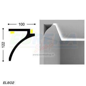 EL802 - Veletta tendoni da appoggio - barra da 2 mt