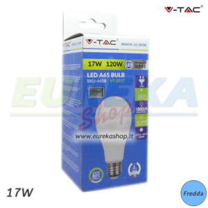 LAMPADINA LED 17W A65 27 - FREDDA 6400K