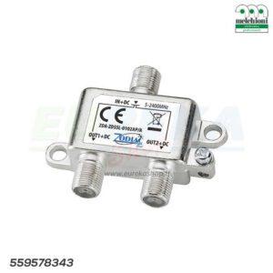 DIVISORE ZDSSL-0102AP/A DA INTERNO 1/2 DC