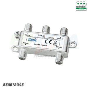 DIVISORE ZDSSL-0104AP/A DA INTERNO 1/4 DC