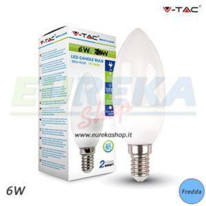 - OFFERTA - LAMPADINA A LED V-TAC 6W E14 CND 6000K VT-1855