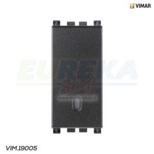 Deviatore 1P 16AX grigio
