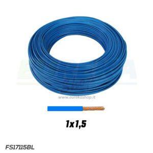 CAVO FS17 1X1.5 BLU