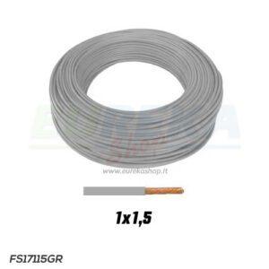 CAVO FS17 1X1.5 GRIGIO