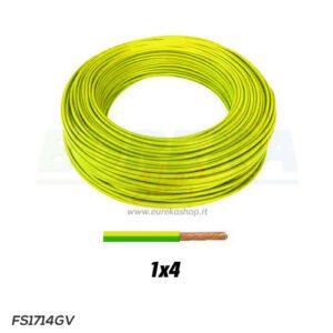 CAVO FS17 1X4 GIALLO/VERDE