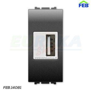 ALIMENTATORE USB 5V 1A 1M