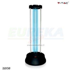 Lampada Germicida con radar e display UV 38W con Ozono
