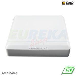 Plafoniera - Applique 24W Led IP44 4000K TL9012-L Quadra