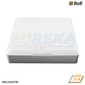 Plafoniera - Applique 24W Led IP44 3000K TL9012-L Quadra