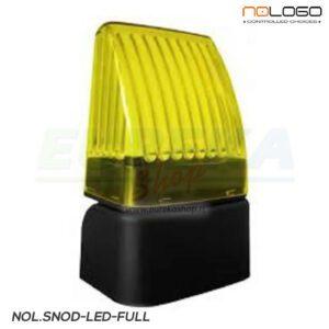 Segnalat.lum. LED 12/24/230v luce fissa o intermittente